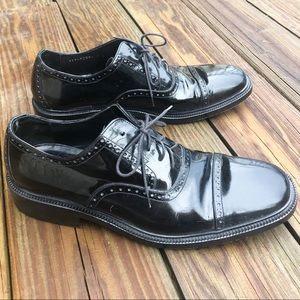Gucci Men's Leather Oxfords Dress Shoes Italy